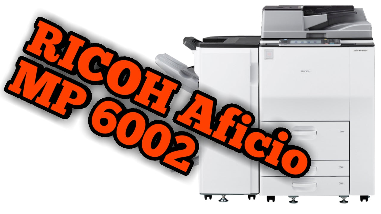Are you Looking to buy the RICOH Aficio MP6002? It is a highly effective Multifunction Copier, Printer, Scanner
