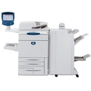 $1000 cash back PICKUP ONLY - XEROX 252 Only 300K - #1 Requested Print Shop Production Printer - Copy, Print, Scan, 4-trays, 11x17, 12x18, 13x19, Fiery, Finisher
