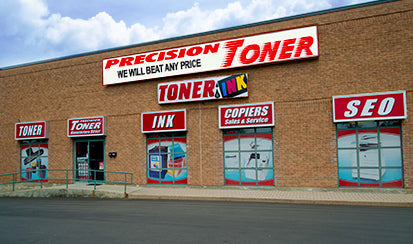 Precision Toner Storefront Location