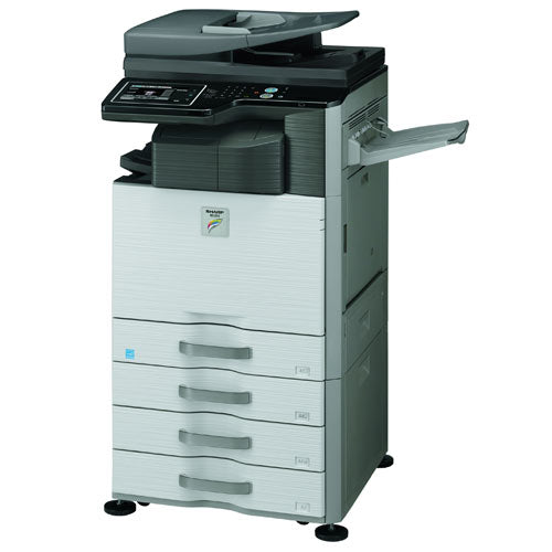 Sharp MX-2615N 2615 Color Copier Laser Printer Copier Scanner 11x17 Stapler REPOSSESSED - Precision Toner