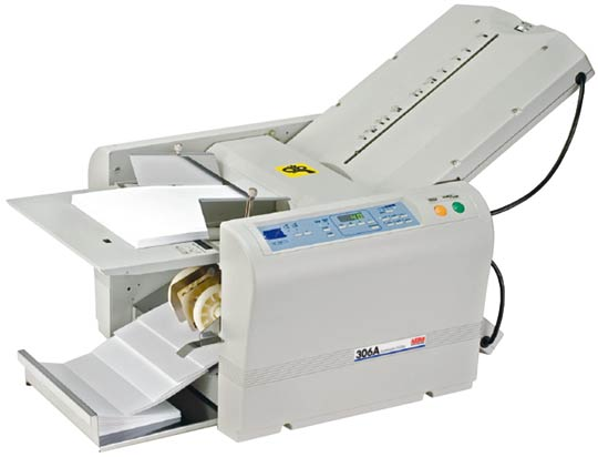 Only $59/month MBM 306A Automatic Paper Folder - Precision Toner