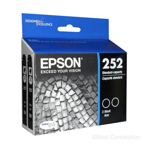 Absolute Toner T252120D2 EPSON DURABRITE ULTRA BLACK INK DUAL PACK Epson Ink Cartridges