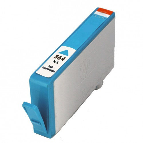 Ink Cartridge Compatible with HP 564XL High Yield Cyan (CB323WC/ CB323WN) - Precision Toner