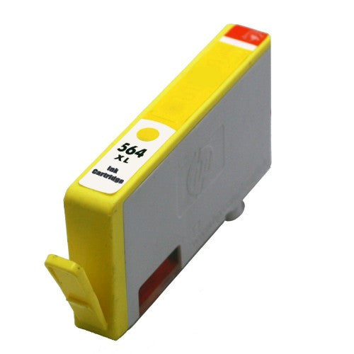 HP 564XL Compatible High Yield Yellow Ink Cartridge (CB325WC/ CB325WN) - Absolute Toner