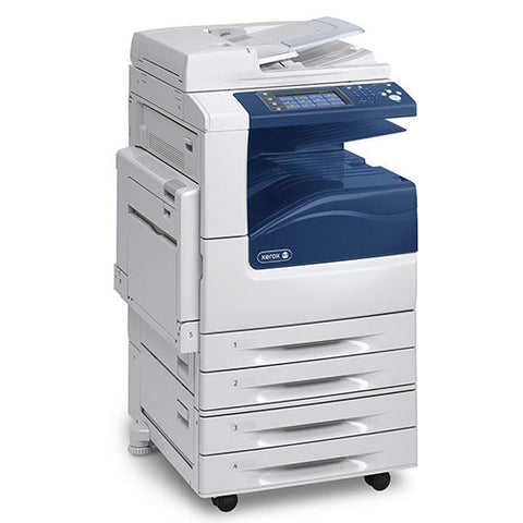 Xerox WorkCentre WC 7535 Color Multifunction Printer Copier Scanner REPOSSESSED Copy Machine Only 610 Pages Printed