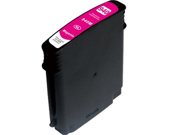 Ink Cartridge Compatible with HP 940XL High Yield Magenta (C4908AN/ C4904AN) - Precision Toner