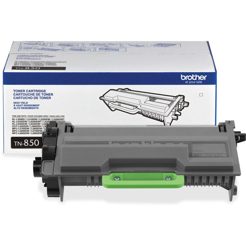 Brother TN-850 OEM High Yield Black Toner Cartridge (TN850) - Precision Toner