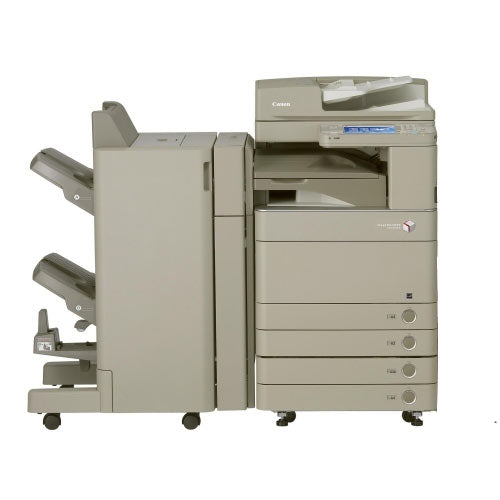 Canon imageRUNNER ADVANCE C5051 5051 Color Copier Scan 100IPM Print 51PPM Single Pass Duplex Scanner Booklet Maker Finisher Stapler REPOSSESSED Photocopier - Precision Toner