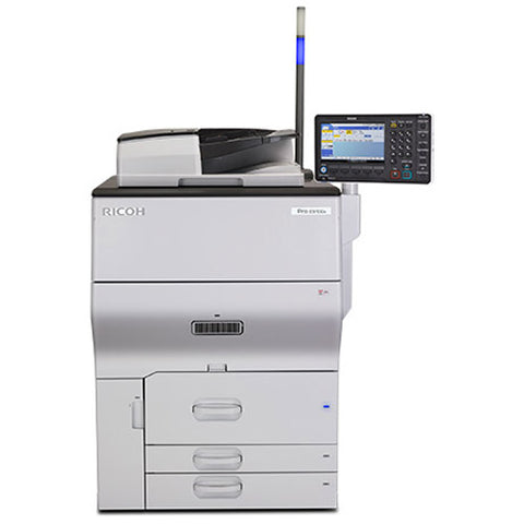 Ricoh Pro C5100S C5100 5100 Color Laser Production Printer Copier Scanner Finisher 65PPM
