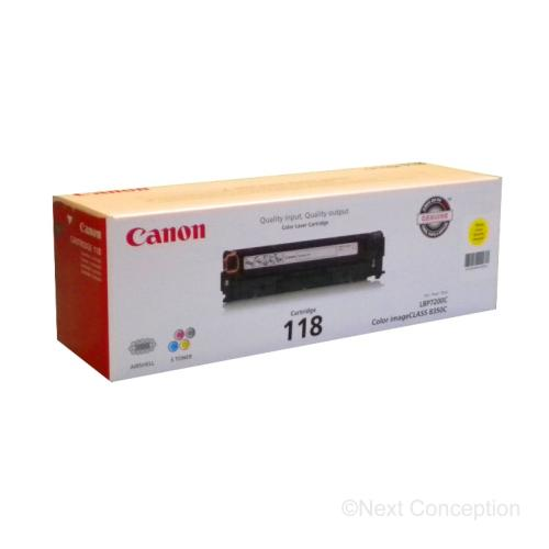 Absolute Toner 2659B001 Canon 118Y CANON YELLOW TONER Canon Toner Cartridges