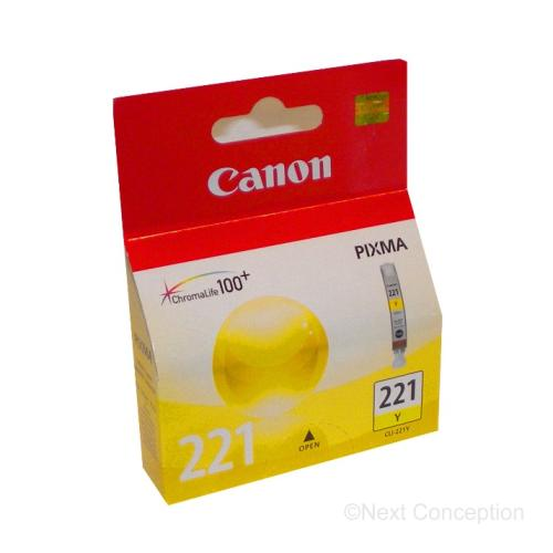 Absolute Toner 2949B001 CANON CLI221Y YELLOW INK Canon Ink Cartridges