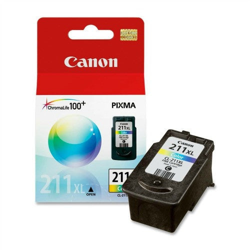 Canon CL-211XL OEM High Yield Colour Ink Cartridge - Absolute Toner