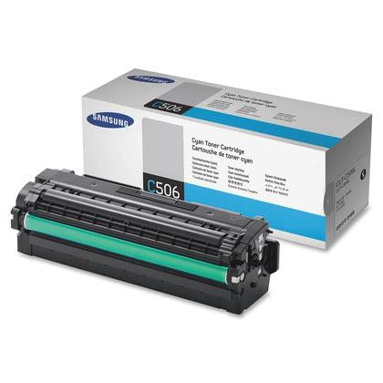 Samsung CLT-C506L OEM High Yield Cyan Toner Cartridge - Precision Toner