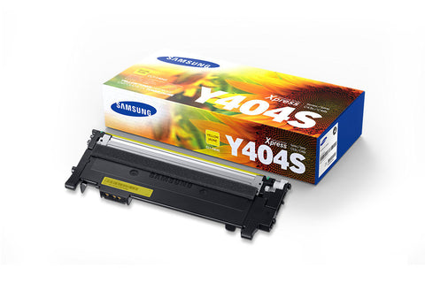 Samsung CLT-Y404S OEM Yellow Toner Cartridge