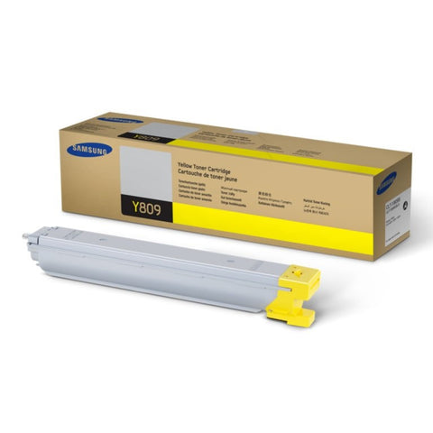 Samsung CLT-Y809S OEM Yellow Toner Cartridge (CLT-809)