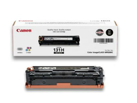 Canon 131H OEM High Yield Black Toner Cartridge (6273B001AA)