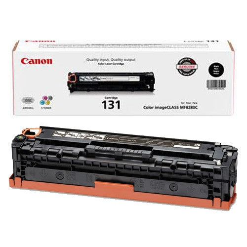 Canon 131 OEM Black Toner Cartridge (6272B001AA)