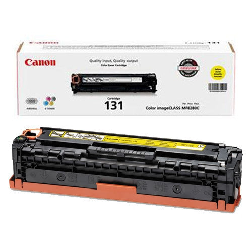 Canon 131 OEM Yellow Toner Cartridge (6269B001AA)
