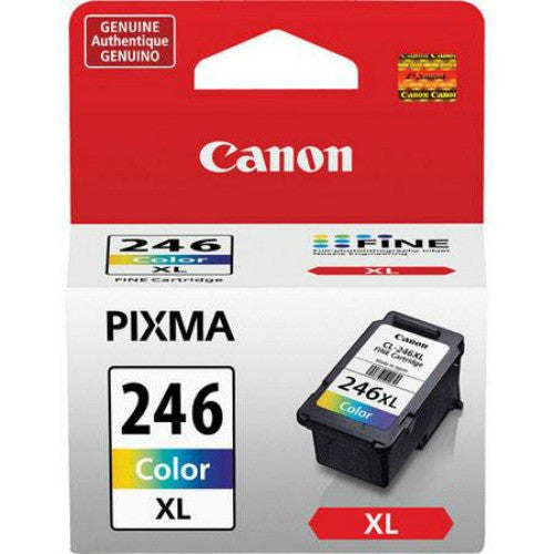 Canon CL-246XL OEM High Yield Tri-Color Ink Cartridge (8280B001)