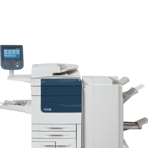 Xerox Color 550 Production Printer Copier Scanner Booklet Maker Finisher  Print Shop photocopier REPOSSESSED