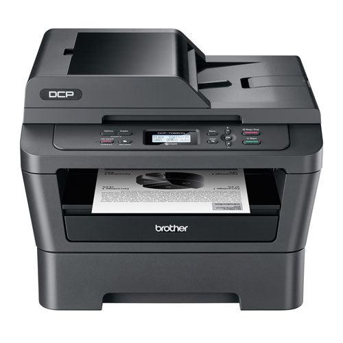 Brother DCP-7065DN Compact Laser Multifunction 3 in 1 Copier Printer Color Scanner - Precision Toner