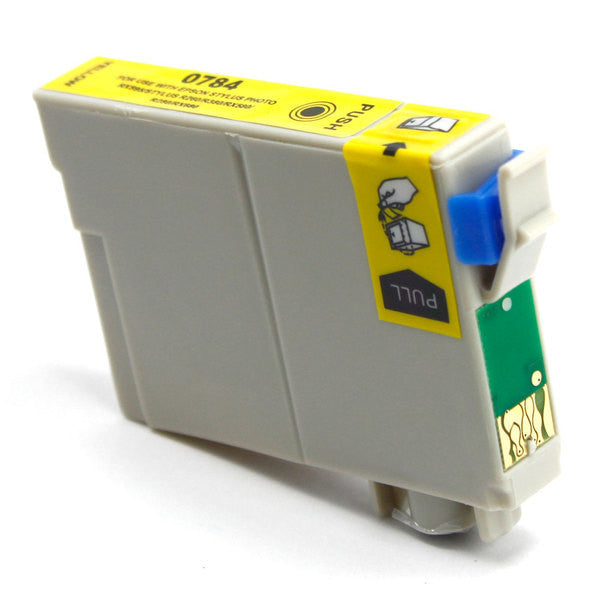 Epson T078420 Compatible Yellow Ink Cartridge (Epson 78) - Absolute Toner