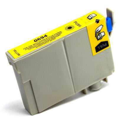 Epson T069420 Compatible Yellow Ink Cartridge (Epson 69)