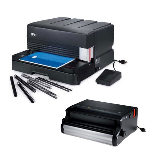 GBC MagnaPunch Interchangeable Die Heavy Duty Punch and Binder Binding Machine - Precision Toner