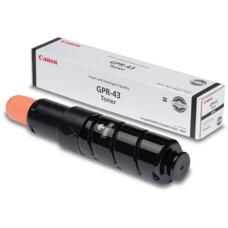 Canon 4792B003AA OEM Black Toner Cartridge (GPR-43/ NPG-57)