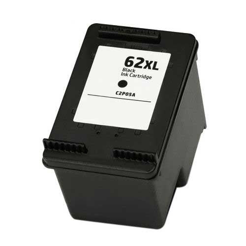 Ink Cartridge Compatible with HP 62XL High Yield Black Ink Cartridge - Precision Toner