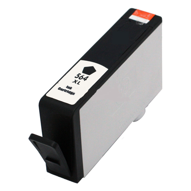 Ink Cartridge Compatible with HP 564XL High Yield Black (CN684WC/ CN684WN) - Precision Toner