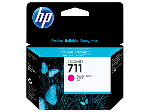 HP 711 OEM Magenta Ink Cartridge (CZ131A)
