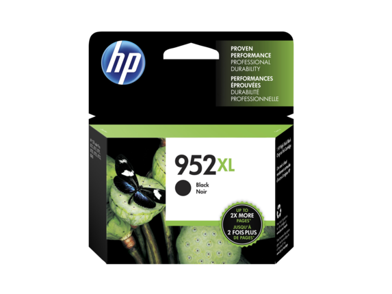 HP 952XL OEM High Yield Black Ink Cartridge (F6U19AN) - Precision Toner