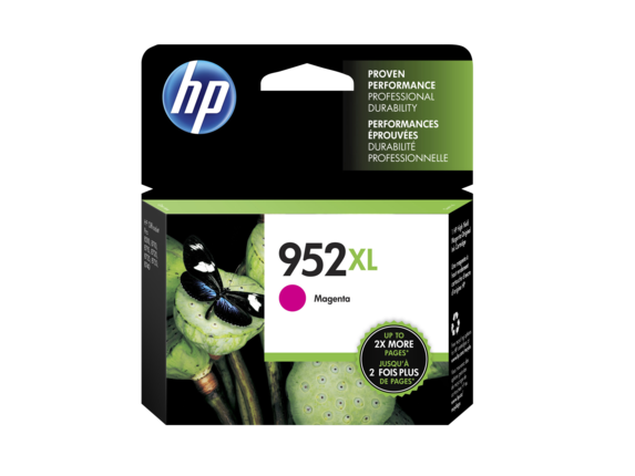 HP 952XL OEM High Yield Magenta Ink Cartridge (L0S64AN) - Precision Toner