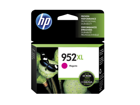 HP 952XL OEM High Yield Magenta Ink Cartridge (L0S64AN)