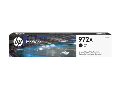 HP 972A OEM Black PageWide Ink Cartridge (F6T80AN) - Absolute Toner