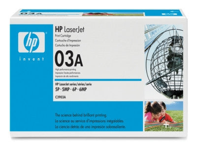 HP C3903A OEM Black Toner Cartridge - Precision Toner