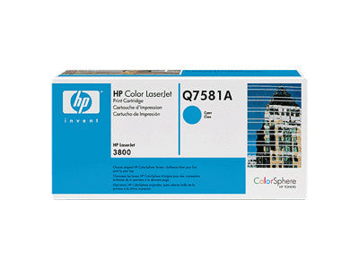 HP Q7581A OEM Cyan Toner Cartridge (HP 503A 3800) - Precision Toner