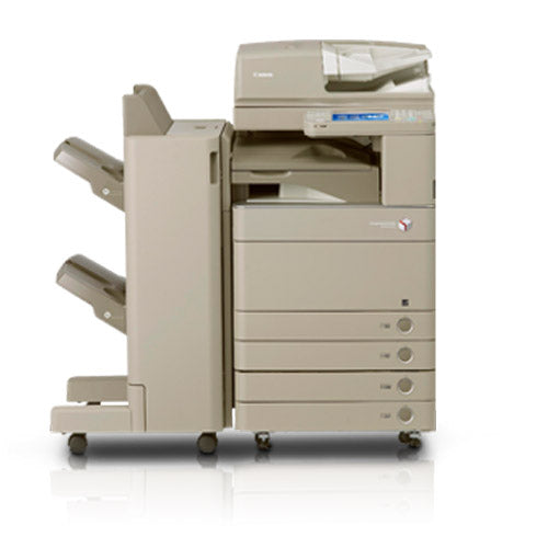 Canon imageRUNNER ADVANCE C5250 5250 Color Copier Scan 120IPM Print 50PPM Single Pass Duplex Scanner Finisher Stapler REPOSSESSED Only 9K Pages