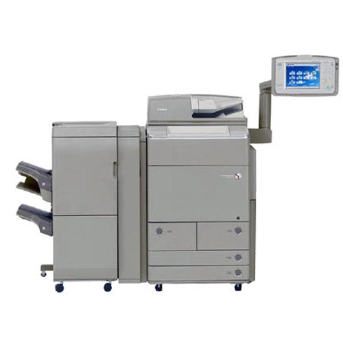 REPOSSESSED Canon imageRUNNER ADVANCE C9075 Pro Color Copier Printer Scanner Booklet Maker Finisher 11x17 12x18 13x19 - Only 274 Pages Printed LIKE NEW