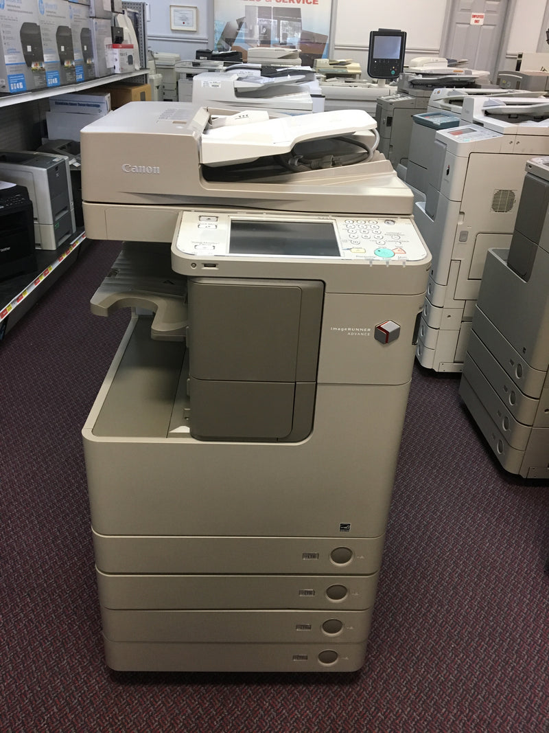 Canon imageRUNNER ADVANCE IRA 4025 Monochrome Copier Printer color Scanner Fax 12x18 REPOSSESSED Only 26k Pages Printed - Precision Toner