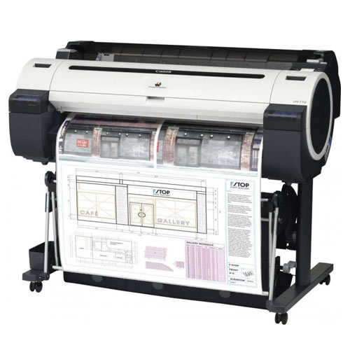 "36"" Canon imagePROGRAF iPF770 Wide Format Corporate and CAD Inkjet Printer with stand - Precision Toner"