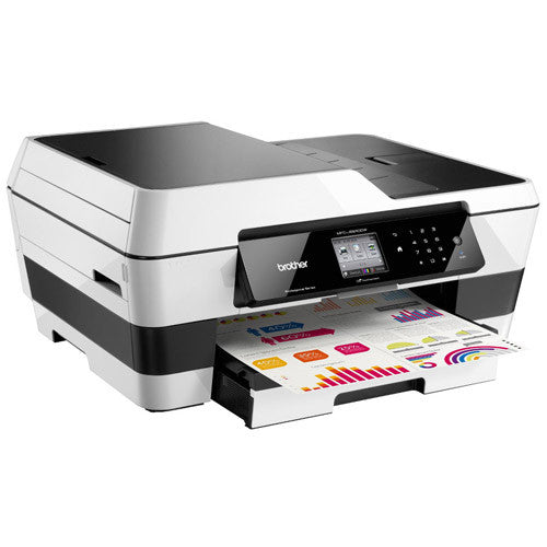 Brother MFC J6520DW Multifunction Color InkJet Printer USB Wifi - Precision Toner