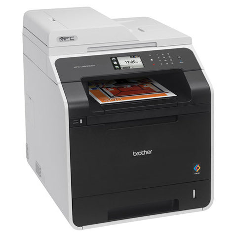 Brother MFC-L8600CDW L8600 Color Laser All in one Printer Copier Office Scanner