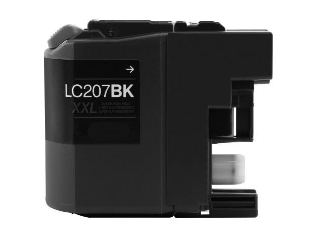 Brother LC207BK XXL Compatible Extra High Yield Black Ink Cartridge - Precision Toner