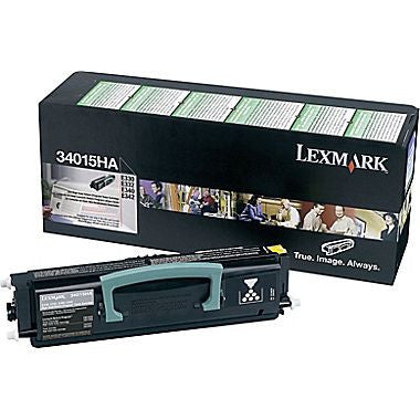 Lexmark 34015HA OEM High Yield Black Toner Cartridge (E330) - Precision Toner