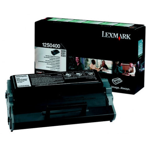 Lexmark 12S0400 OEM Black Toner Cartridge (E220) - Precision Toner