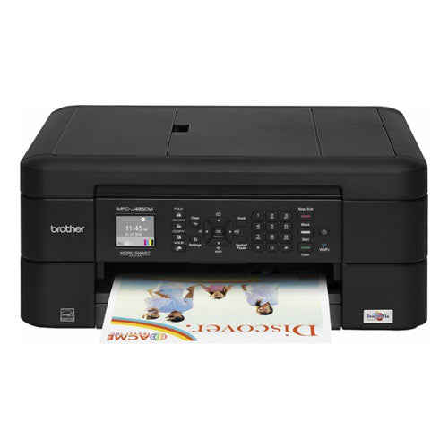 Brother MFC-J485DW All-in-One Wireless Colour Inkjet Multifunction Printer - Precision Toner