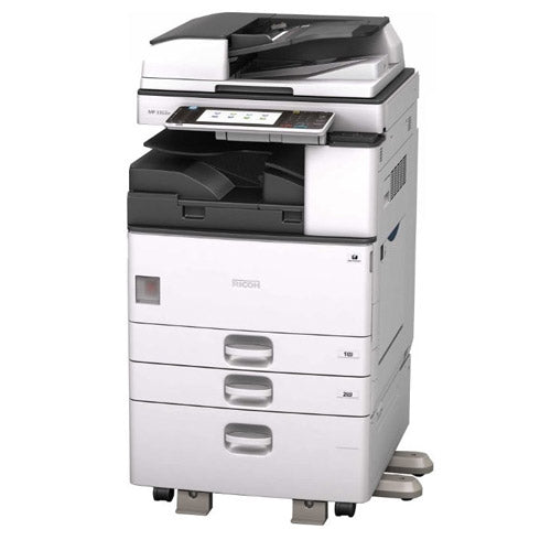 REPOSSESSED - Ricoh MP 3353 Monochrome Multifunction Photocopier 11x17 Only 47k pages - Precision Toner