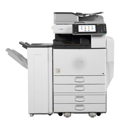 REPOSSESSED Ricoh MP 4002 Black and White Multifunction Printer Copier Color Scanner 11x17 - Only 4k pages